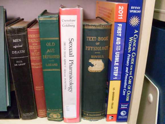 """Is it just me or do some of this old medical books sound interesting...""""Old Age Deferred""""!"""