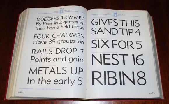 Love the Metro font.