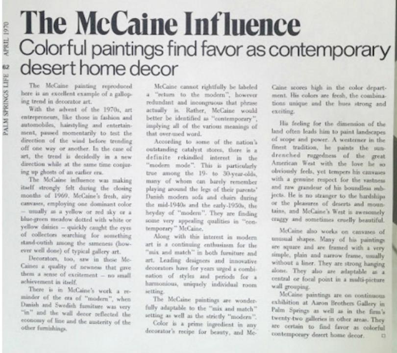 mccaine-story