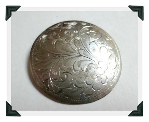 silver-brooch