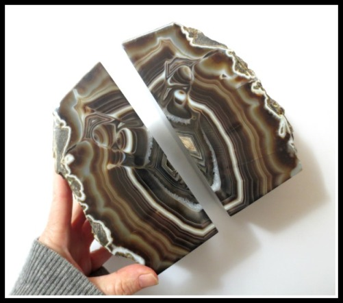 brown-agate-bookends