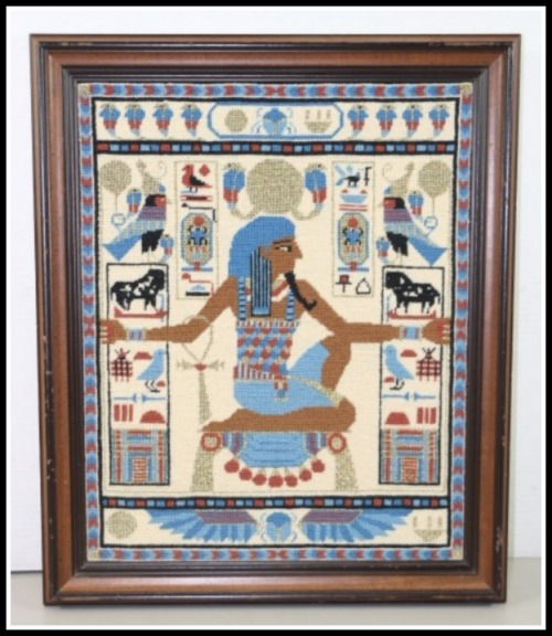 Egyptian-needlepoint
