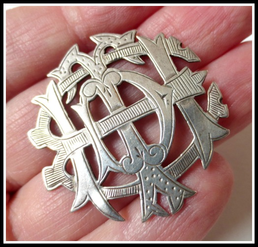 silver-initial-pin